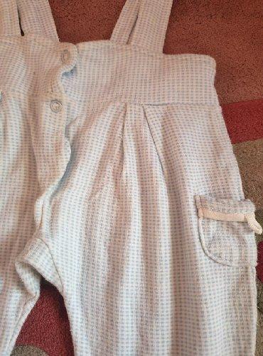Guess-jeans-karirane-pamuk - Srbija: Karirane - plavo bele pantalone za bebe decake, kao zeka. Moze da se