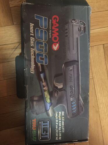 Bunda od srebrne lisice - Srbija: Vazdusni pistolj Gamo p900 u odlicnom stanju,ispaljeno 100 dijabola i