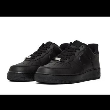 Nike air force 1 '07 low black Original