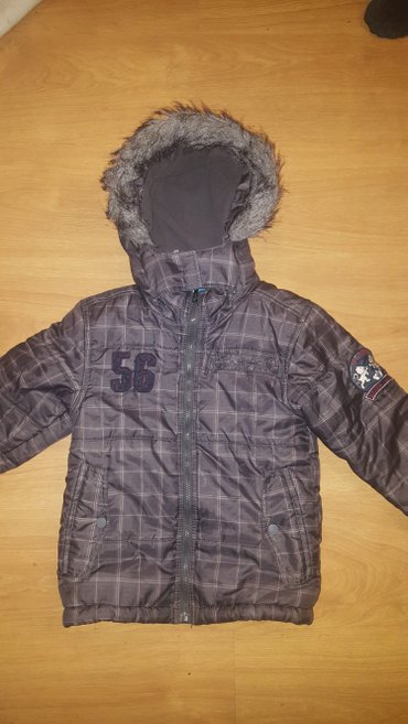 Jakna sa - Srbija: Topolino jakna sa krznom vel. 110
