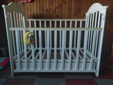 Ogradica za bebe - Srbija: Krevetac+autosedište+džak+skafander+dušekKrevetac Banbino sa dva nivoa