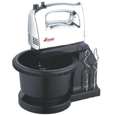 he yrati - Azərbaycan: Mikser Qablı He-House Hand Mixer With Bowl- Yazılı şəkildə Rəsmi