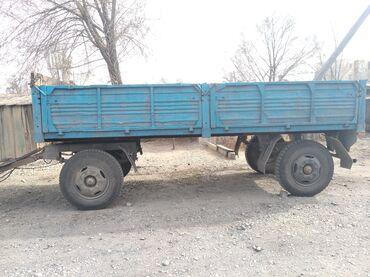Транспорт - Кыргызстан: Прицеп ЗИЛ. Новый кузов. Колеса85%. Тормоза новые. Усилены рессоры