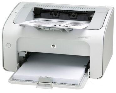 Принтеры - Кыргызстан: Принтер HP p1005. Печатает четко чисто. Состояние внешне технически