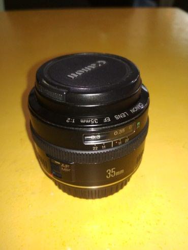 Продаю объектив canon 35 f2 в Бишкек