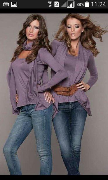 Majica novo ginna fashion moze se nositi na vise nacina novo sve - Backa Palanka