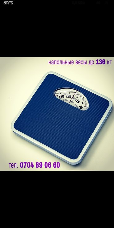 Напольные весы механические до 136 кг. в Бишкек