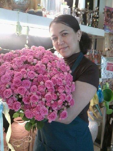 Опытный флорист ищет работу на праздничные дни .стаж 6 лет работала в