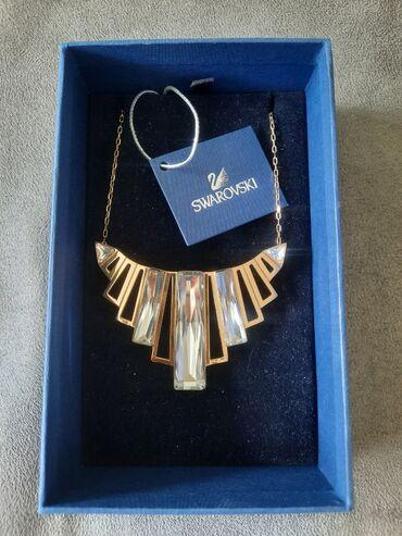 Nova Swarovski ogrlica, kupljena u Mađarskoj. Ukupna dužina ogrlice je