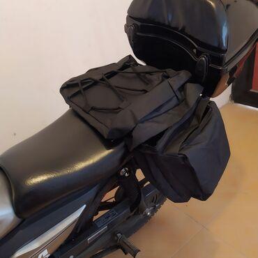 Moto çanta motosiklet sumkası yenidir istifadə olunmayıb geniş