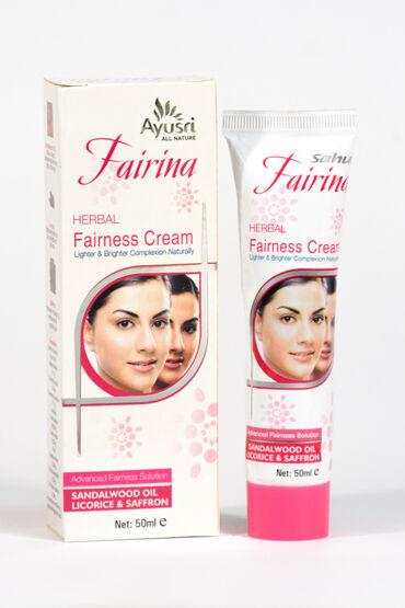 Отбеливающий крем для лица Файрина.Обогащенный естественным витамином