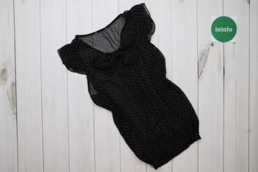 Жіноча блуза у крапинку з коротким рукавом    Довжина: 55 см Рукав: 9