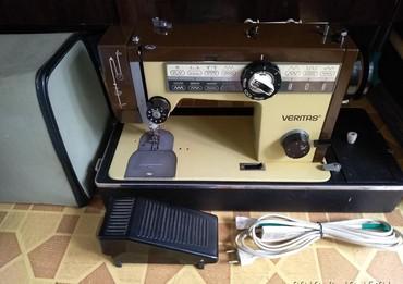 shvejnaja mashinka veritas nemeckaja в Кыргызстан: Срочно продаю электрическую швейную машину Veritas. состояние
