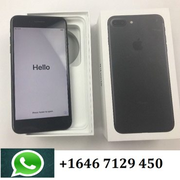 Apple IPhone 7 Plus 256gb в Душанбе