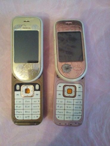 Nokia 7373 telefonlari. Ishlemirler. Ehtiyat hisseleri kimi satilir. - Bakı