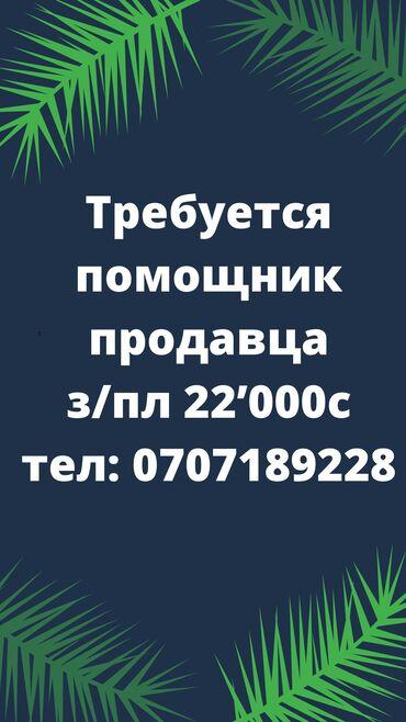 Баяндар кыргызча - Кыргызстан: Сатуучу консультант. Тажрыйбасыз. 5/2