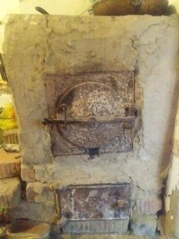 плита чугунная в Кыргызстан: Срочно срочно!!!! продам чугунную печь! в комплекте: 100 кирпичей