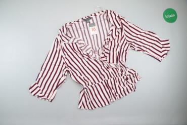 1537 объявлений: Жіноча блузка Primark, р. М   Довжина: 59 см Довжина рукава: 40 см Нап