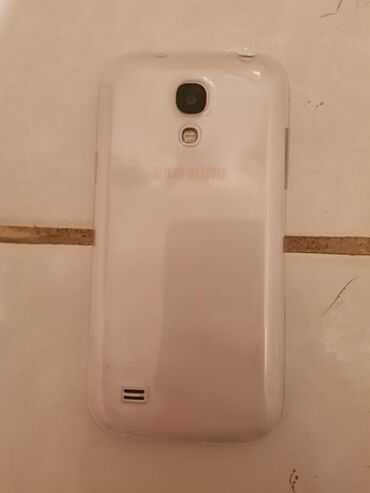 Samsung-9192 - Азербайджан: Б/у Samsung Galaxy S4 Mini Plus 8 ГБ Белый