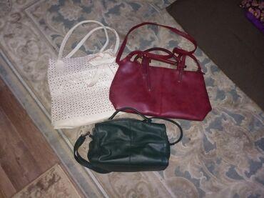 Продаю сумки женские,красного цвета сумка-кожа но толстая кожа,носила