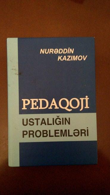 Pedaqoji ustalığın problemləri (Nurəddin Kazımov)