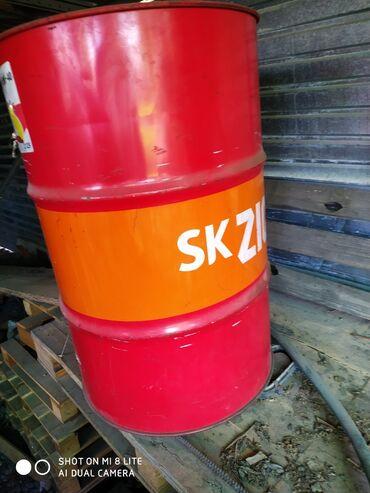 Личные вещи - Кемин: Бочка железная с под масла . 210 литров в кемине . Быстровка