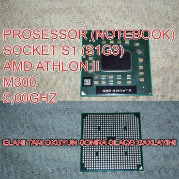 Bakı şəhərində Prosessor AMD Athlon II M300