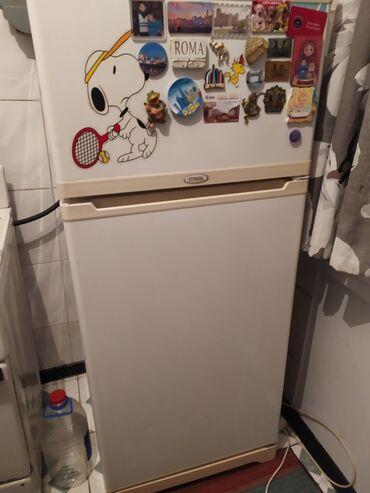 Б/у Двухкамерный Белый холодильник Saturn