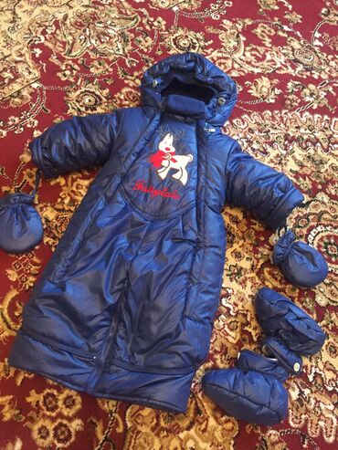 одежда детская купить в Кыргызстан: Детский комбинезон для мальчика купила за 2800 качество с рождения