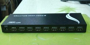 кабели синхронизации hdmi в Кыргызстан: HDMI splitter 8port. Новый. Все товары смотрите в профиле
