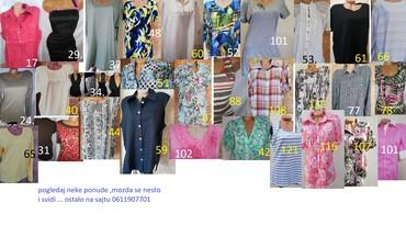 Istrazivanje trzista - Srbija: Haljina,majca,bluza, kosuljapogledaj i izaberi, NA OVOM PROFILU SU
