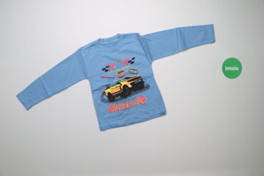 Топы и рубашки - Новый - Киев: Дитячий світшот з принтом автомобіля    Довжина: 41 см Ширина плечей