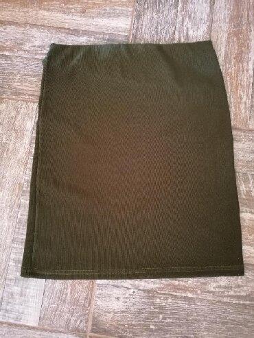 Nova suknja, maslinasto zelena, vel. S - Leskovac