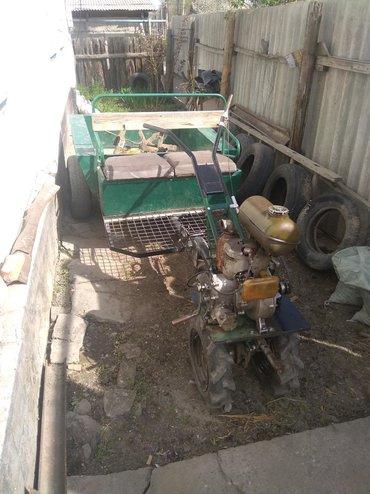 офис на колесах продам в Кыргызстан: Продам мотоблок. Состояние отличное. С прицепом. Расход 1л. В час