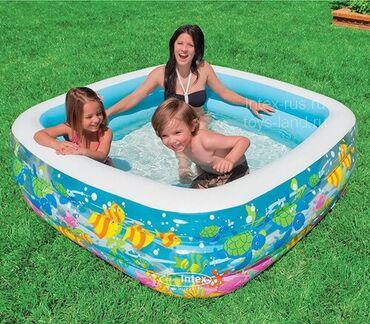 Надувные-бассейны-для-детей - Кыргызстан: Бассейны для взрослых и детей😍  Порадуйте себя и своих детишек) Стоимо