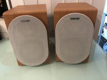 Zvucnici Sony br.2, uvoz Svajcarska - Smederevo