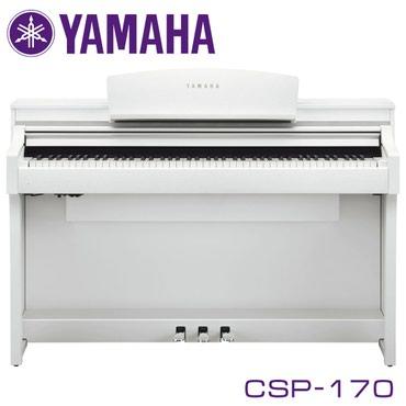 Фортепиано цифровое YAMAHA CSP-170B - цифровое пианино из линейки
