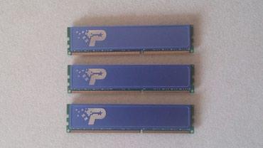 Продаю DDR3 Patriot 1600 MHz 2Gb x 3 в Бишкек