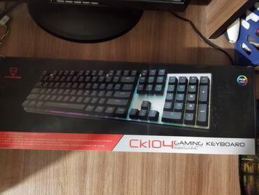 Продается геймерская механическая клавиатура motospeed ck104 с