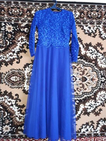Длинная платья . Одевала только 1 раз . в Нарын