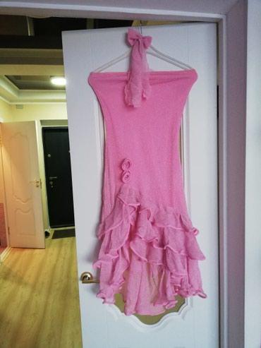 Продаю очень красивое платье розового в Бишкек