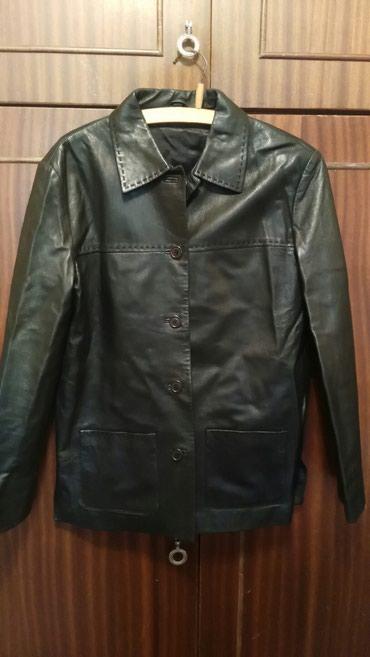 Женская куртка-пиджак кожаная из в Бишкек