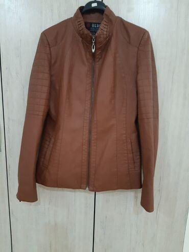 размера л в Кыргызстан: Женская курточка на весну-осень, прессованная кожа, как раз сейчас