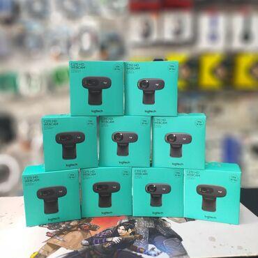 Veb-kameralar - Azərbaycan: Logitech web kameraHd cekiliş keyfiyyetiLOGITECH c270 HD Webcam - 90