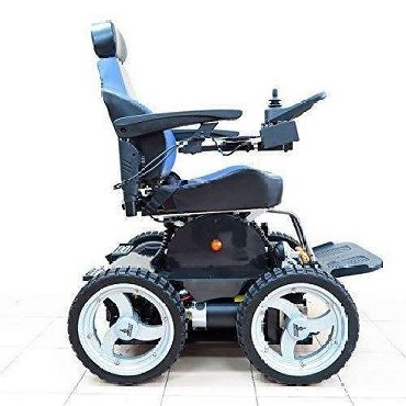 PW-4x4Q Stair Climbing 4 Wheel Drive Lithium Electric Power Wheelchair