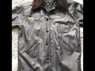 Nova muška kožna jakna  Na prodaju potpuno nova muška kožna jakna - Nis