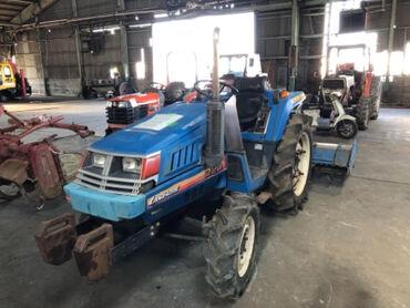 Продается надежный японский мини трактор ISEKI LANDHOPE220. Оснащен 3х