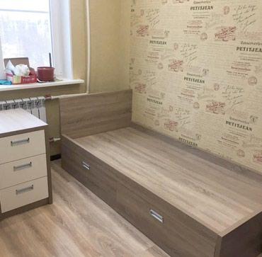 Гарнитуры в Кок-Ой: Кровать + комод +письменный стол