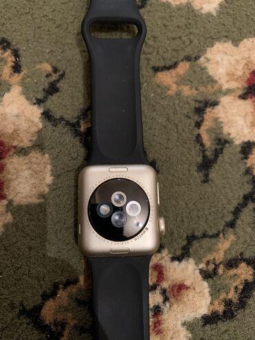 apple watch 2 в Кыргызстан: Золотистые Унисекс Наручные часы Apple