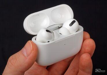bluetooth наушники apple в Кыргызстан: Bluetooth Наушник AirPods Pro.Bluetooth наушники отличного качества